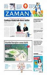 29 Ağustos 2014 Tarihli Zaman Gazetesi