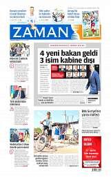 30 Ağustos 2014 Tarihli Zaman Gazetesi