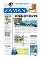 31 Ağustos 2014 Tarihli Zaman Gazetesi