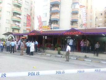 İskenderun'da silahlı saldırı: 1 polis yaralı