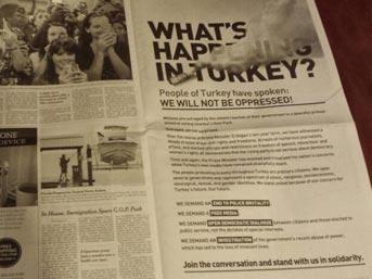 'Türkiye'de neler oluyor?'