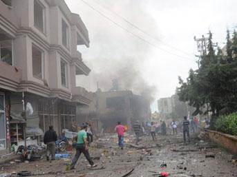 İşte Reyhanlı'daki patlama anı