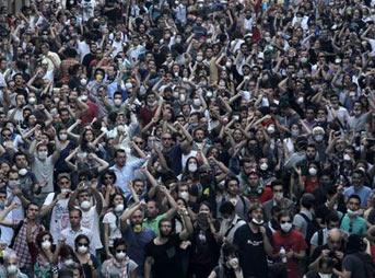 Taksim Gezi Parkı canlı yayını ve son durumu