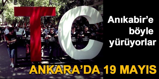 Ankara'da 19 Mays cokusu