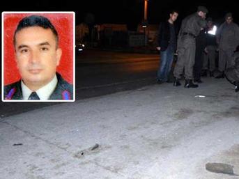Zonguldak'ta başçavuş kazada öldü