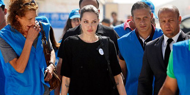 Angelina Jolie Gaziantep'te