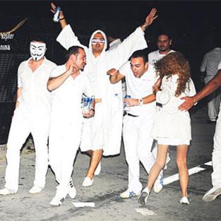 İstanbul'da beyaz gece
